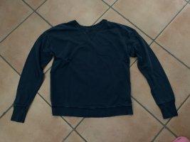 Totalausverkauf! Leichtes Sweatshirt von Calvin Klein Jeans, Petrolgrün, Usedlook, Gr. XS