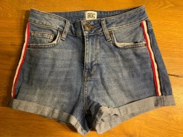 BGD Urban Outfitters Short staalblauw-azuur