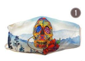 Totenkopf Halloween Mundschutz Schutzmasken Waschbar TOP Angebot