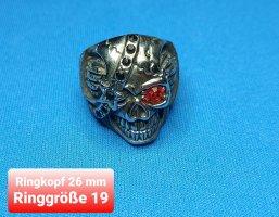 Totenkopf Ring aus Chirurgenstahl