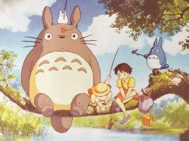 Totoro  & Sword Art Online Manga 2er  Poster