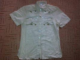 Peter Hahn Folkloristische hemd room-licht beige