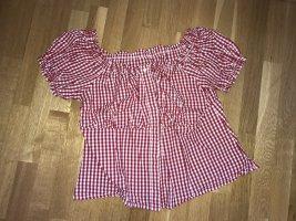 Tradycyjna bluzka czerwony
