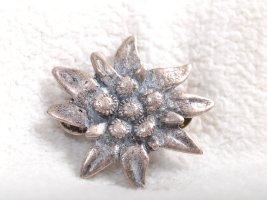 Button silver-colored