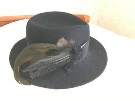 Mayser Mills Chapeau bavarois bleu foncé laine