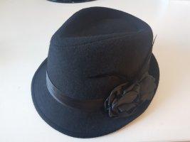 Folkloristische hoed zwart