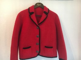 Keine Marke Traditional Jacket brick red-taupe mohair