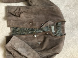 Traditional Jacket grey brown leather