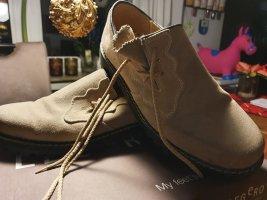 Almenrausch Chaussures à lacets beige