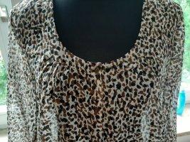 s.Oliver Transparante blouse veelkleurig