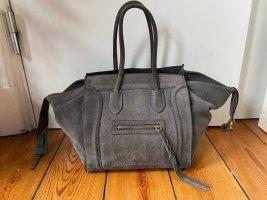 Trapez Tasche W i l d l e d e r Made in Italy Grau