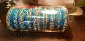 Bollywood Pearl Bracelet gold-colored-turquoise