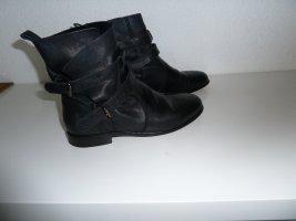 Traumhafte Echt Leder Boots Gr.37,5 38 Schnallen