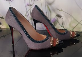 Christian Louboutin Pointed Toe Pumps multicolored