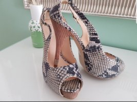 Guess Peep Toe Pumps multicolored leather