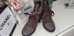 Alma en Pena Chukka boot gris brun-gris clair cuir