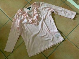 Ralph Lauren Prążkowana koszulka różowy