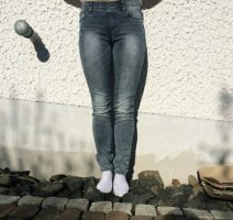 Treggings in Jeansoptik