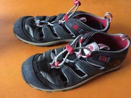 Timberland Outdoor sandalen grijs-magenta