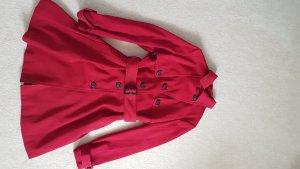 H&M Trenchcoat donkerrood