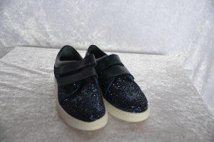 Trend-Sneaker von Heine Textil und Rind-Nappaleder Gr. 38 NEU