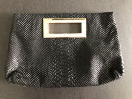 Trendy Clutch im Kroko-Look