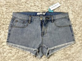 Trendy Jeans Shorts Hotpants hellblau von Seafolly Gr. S Neu mit Etikett