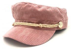 Trendy Sailor Segler Cord Ballonmütze Schirmmütze Bakerboy NEU