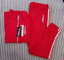 Adidas Twin Set tipo suéter red