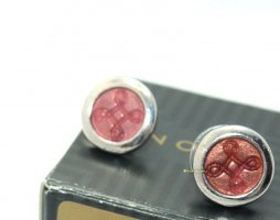 Avon Ear stud silver-colored-pink