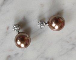 Tribales Double Pearl Ohrringe Perlen