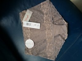 Triumph Bielizna dolna beżowy Tkanina z mieszanych włókien