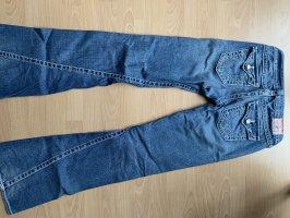 True Religion Jeans flare bleu azur