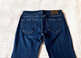 True Religion Jeansy o obcisłym kroju niebieski