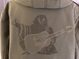 True Religion Long Jacket khaki