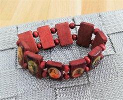 """True Vintage 70er Armband """"Bilder"""""""