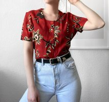 True Vintage Bluse 90er Blumenbluse