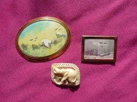 true vintage brosche elefant