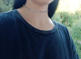 True Vintage Halskette Chocker in Silber