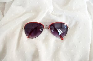 True Vintage Pilotenbrille Sonnenbrille Aviator Retro 80er Unisex Festival Retro