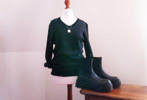Vintage Maglione di lana multicolore Lana