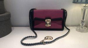 Trussardi Tasche pink navy gold