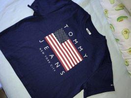 Tshirt dunkelblau USA Flagge Tommy Hilfiger