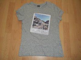 Only T-shirt gris clair-gris