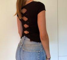 Tshirt mit Rückendetails von Bershka