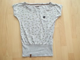 Tshirt von Naketano in Gr. XS grau mit Bienen