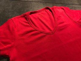 s.Oliver V-Neck Shirt red