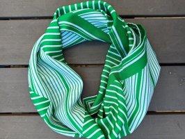 Foulard blanc-vert