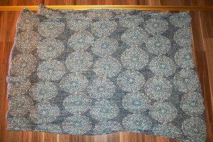 Tuch Schal Damen Maya blau türkis