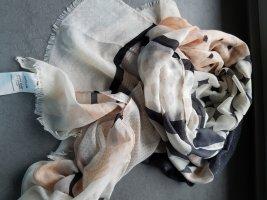 Tuch Schal gemustert